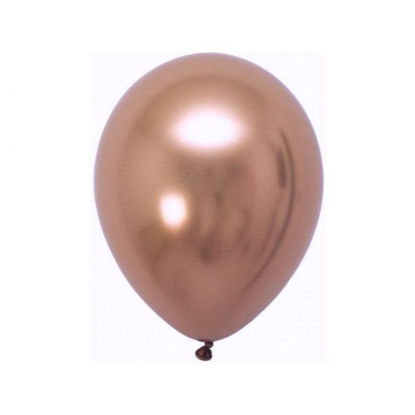 111106 Zlatno Roze Hrom Latex 12 inch