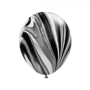 111600 Crno Beli Kliker Latex 12 inch