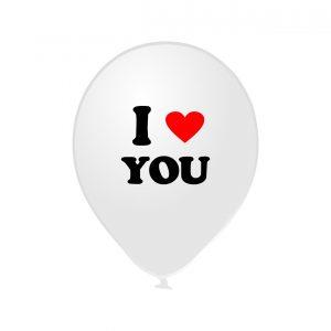111702 I Love You Beli Latex 12 inch