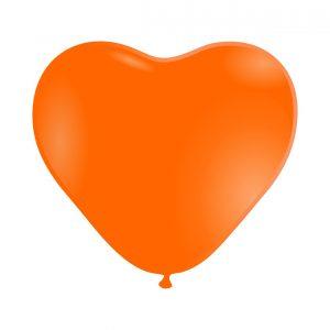 118004 Narandzasto Srce Latex 12 inch