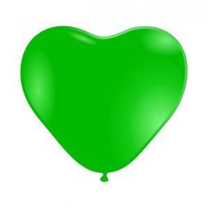 118005 Zeleno Srce Latex 12 inch