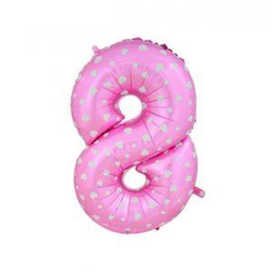 121408 Roze broj 8 17 inch