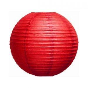 412001 Crveni lampion 15 cm