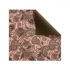 722031 Ukrasni Papir Pink Braon Sara FO671