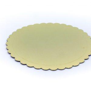 Podmetac za tortu zlatni krug 17cm.381005.60din