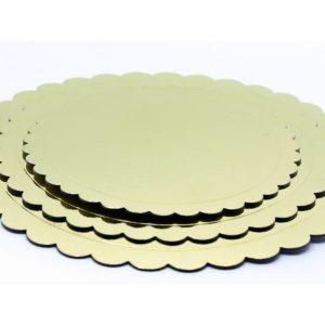 Podmetaci za torte zlatni krug 3kom.381000.300din