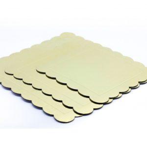 Podmetaci za torte zlatni kvadrat 3kom.381001.300din (2)