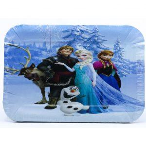 Tanjirici papirni cetvrtasti Frozen 15kom.321036.150din