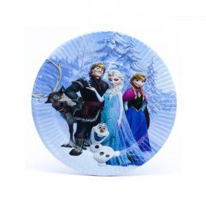 Tanjirici papirni okrugli Frozen 10kom.321009.150din - Copy